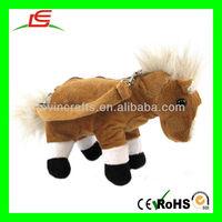 Horse Plush Stuffed Handbag Animal Shaped Bags