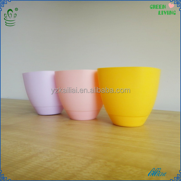bulk flower pot light plastic pot vertical garden decorative containers