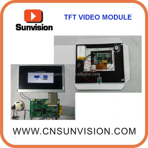 LCD displayer 10 inch video modules for 2017 New Year promotion gifts video brochure cards