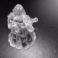 High clear OEM acrylic/PMMA Christmas Angel,plastic crafts gifts