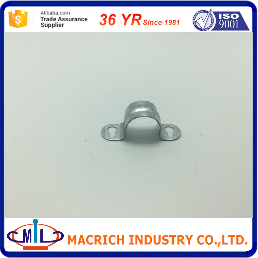 Galvanized malleable clip saddle conduit box electrical iron fittings