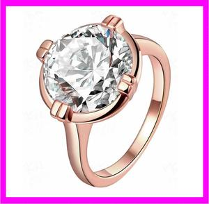 KDA2897 wholesale fashion copper women big diamond wedding ring