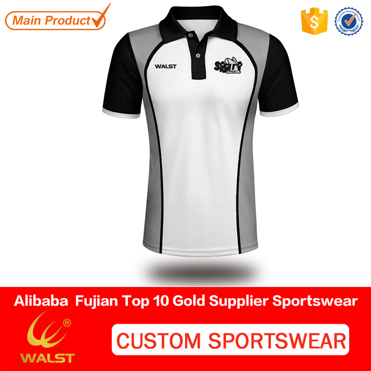 High quality kids sublimated polo printed t shirt with your own logo