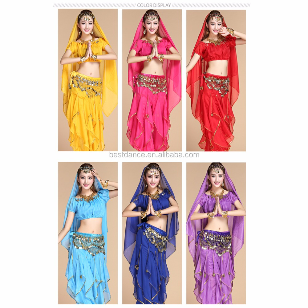 Purple Brand New Belly Dancer Harem Pants Adult Costume