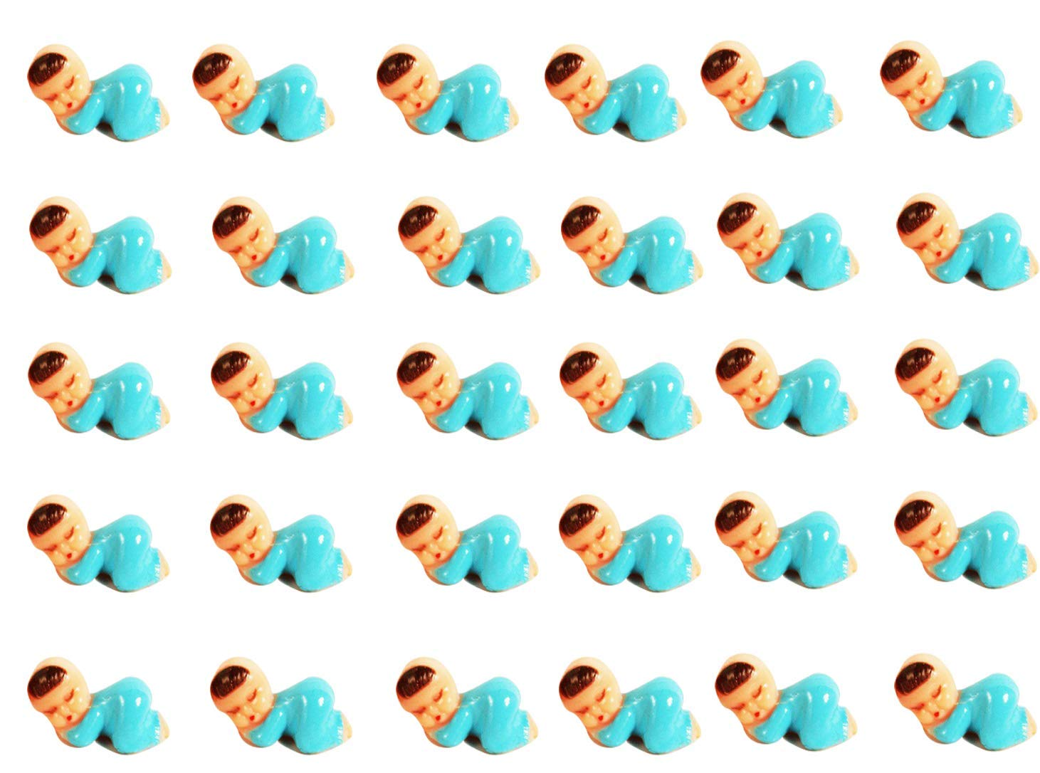 Plastic Babies for Baby Shower Games and King Cakes 72 Pieces