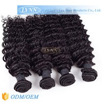 Free sample peruvian deep wave virgin hair 4pcs lot