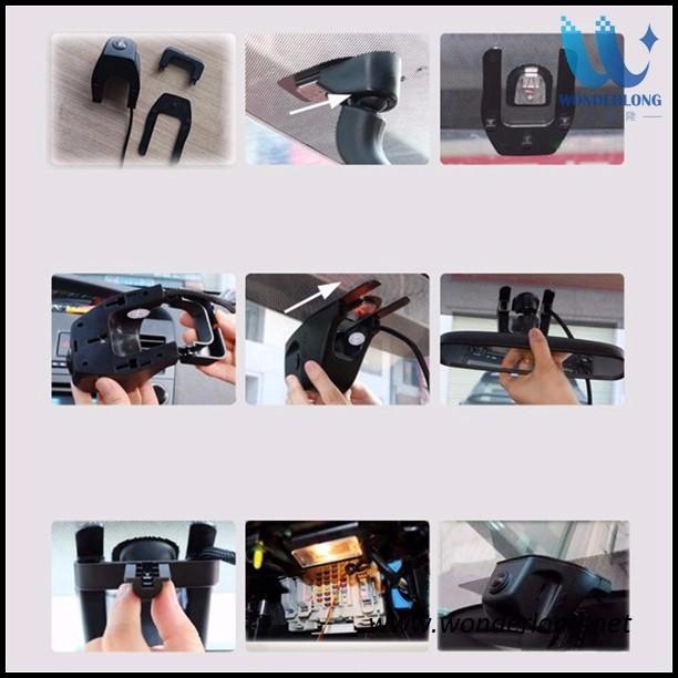 Dual Camera Wireless Full Hd 1080p 160 Wide Angle Car