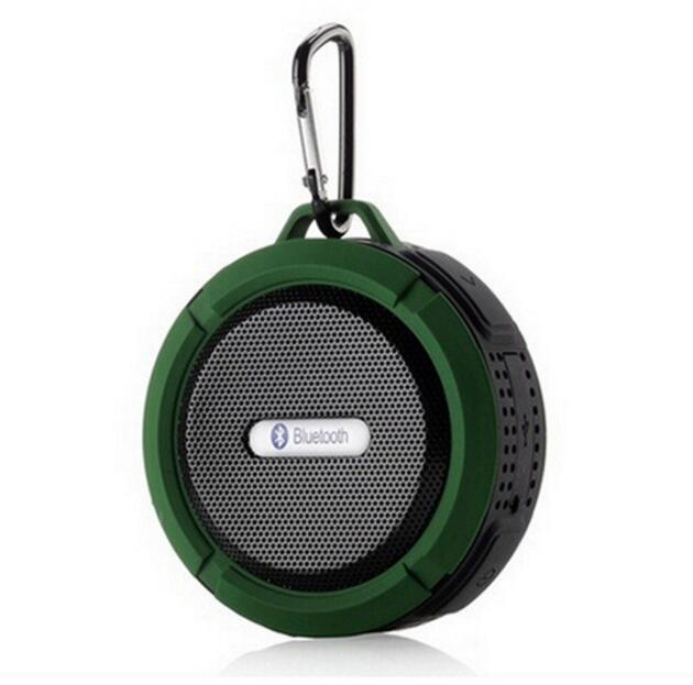 2016 Wireless Portable Waterproof Bluetooth Speaker V3.0+A2DP ISSC Stereo Bass Shower Outdoor Car Speaker with Suction Cup IPX5