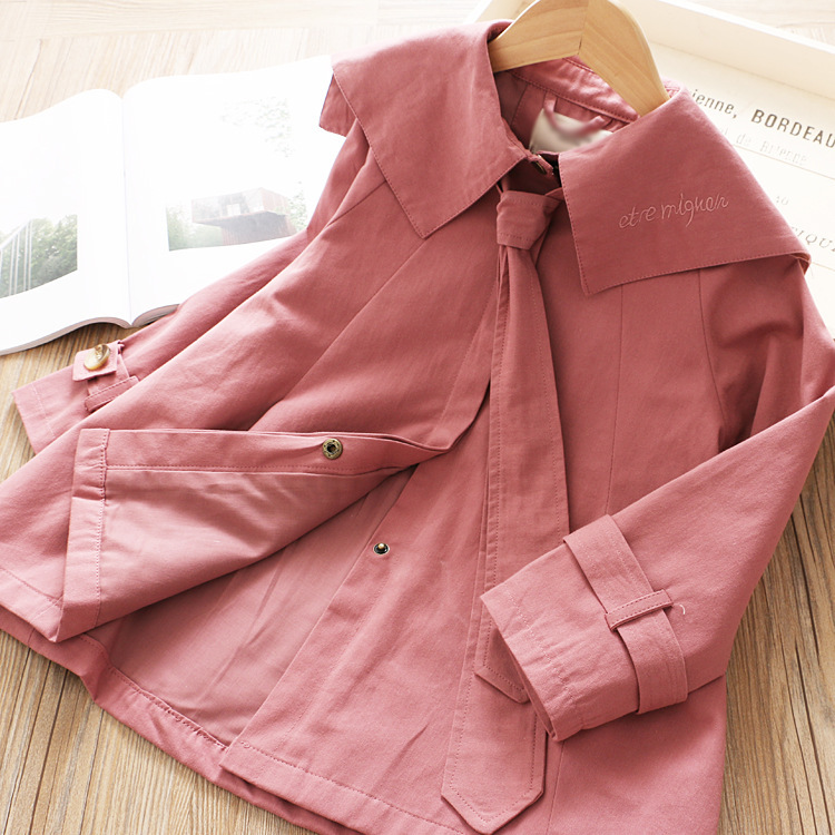 2019 high quality new design girls fancy 100% cotton comfortable high quality coats