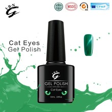 Alibaba hot products production green uv led soak off nail colour eye cat gel polish