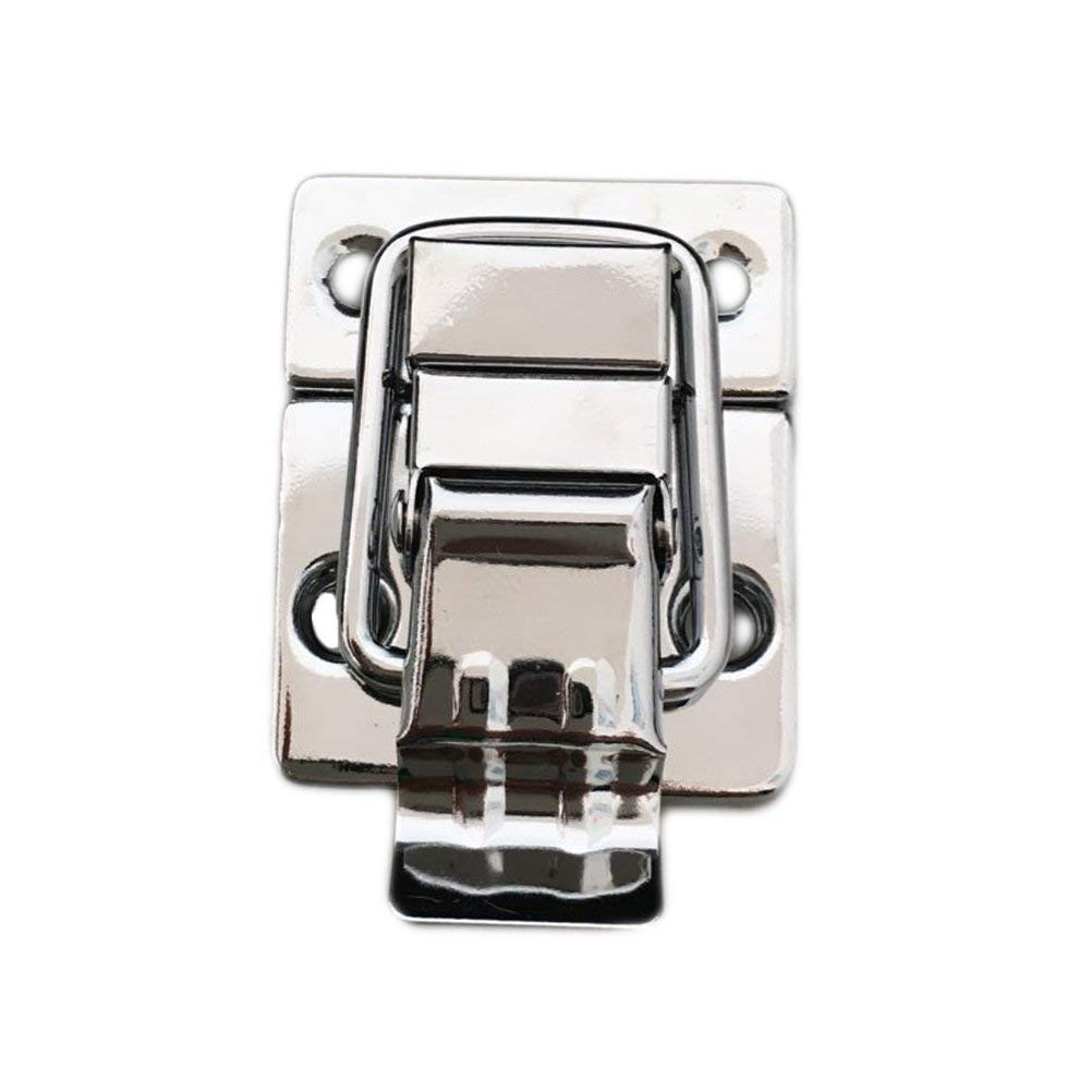 uxcell FBA/_a15052200ux0016 Cabinet Lever Handle Toggle Catch Latch Lock Clamp Hasp 2 Pcs Pack of 2