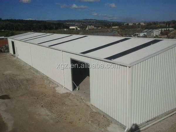 high strength anti-seismic prefabricated steel building