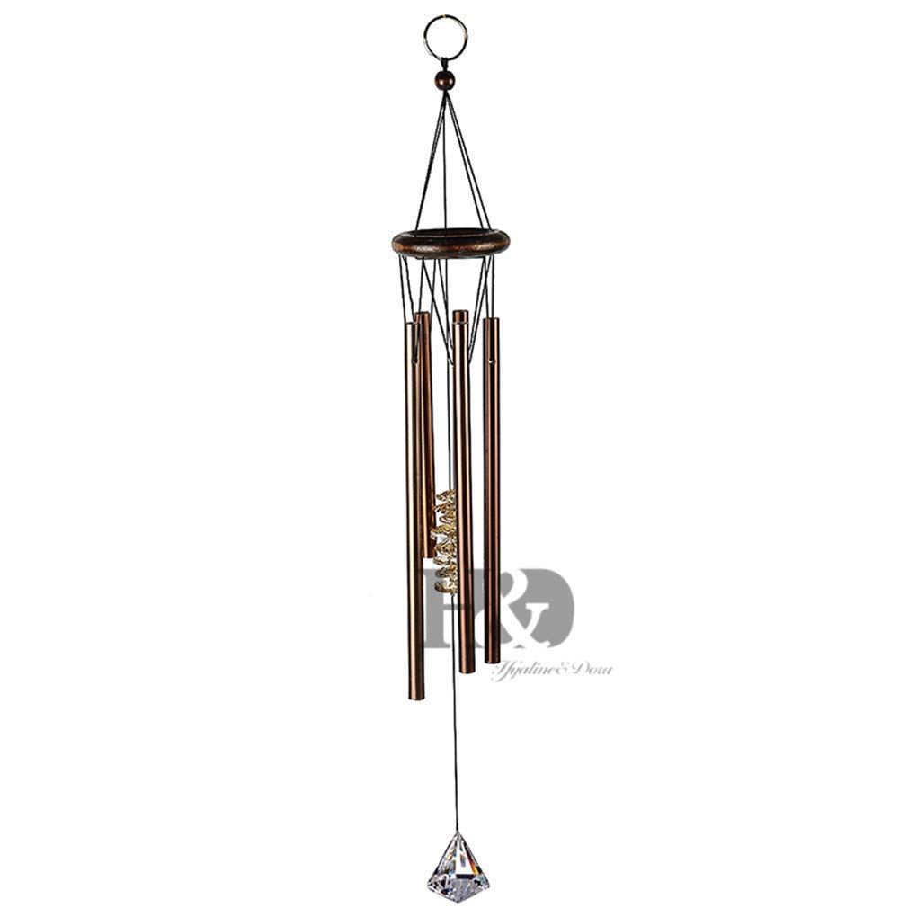 H&D Chakra Outdoor Living Wind Chimes Yard Antique Garden Tubes Bells Copper Home Windchime Wall Hanging Home Decor Type 3