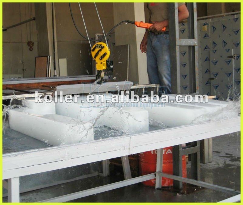 ice block machine with hard and strong ice for tropical area