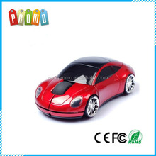 Plastic wireless car shape mouse