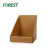 Cheap price custom size plain corrugated paper countertop display box