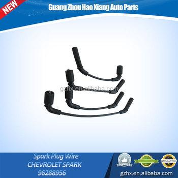 Car Engine Parts Spark Plug Wire Set For Chevrolet Spark Oem 96288956 - Buy  Spark Plug Cable,Spark Plug Wire Set,High Performance Auto Spark Plug