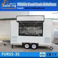 Stainless Steel Food Car/mobile Kitchen/coffee Kiosk/ice Cream ...