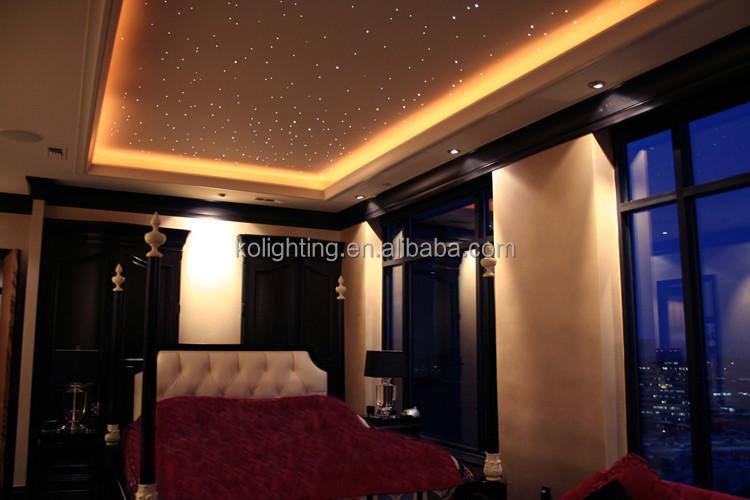 Diy Small Dc 12v Led Starry Sky Fiber Optic Ceiling Light Kit With ...