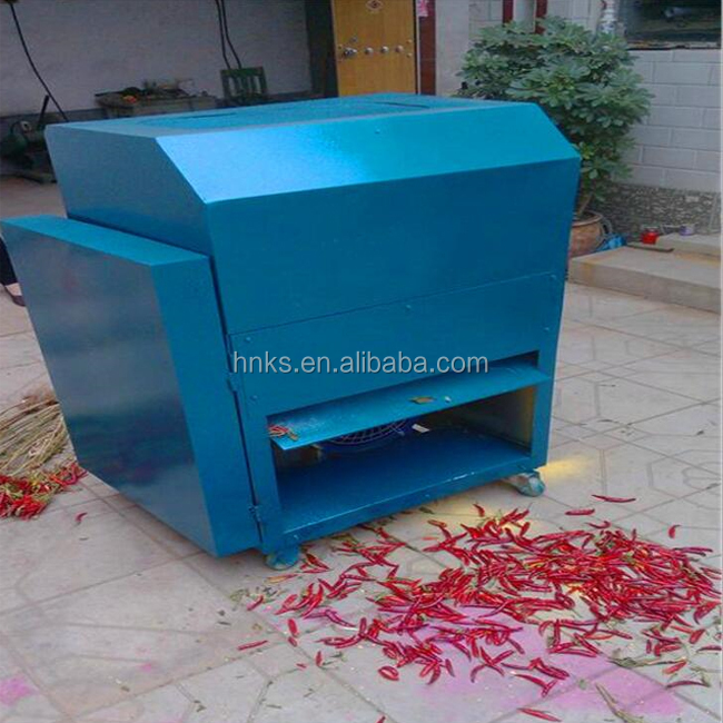 Farm use pepper picking machine chili picker machine