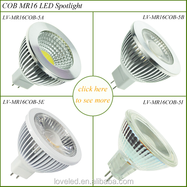 Replacement Halogen Led Daylight Recessed Lighting Gu5.3 5w 12v ...