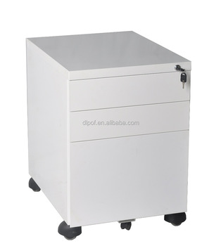 Steel Filing Cabinet Mobile Pedestal 3 Drawer Steel Mobile A4 Metal File  Cabinet