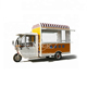 Hand Push Hot Dog Vending Cart/electric Tricycle Food Catering Van/italian Ice Cream Cart