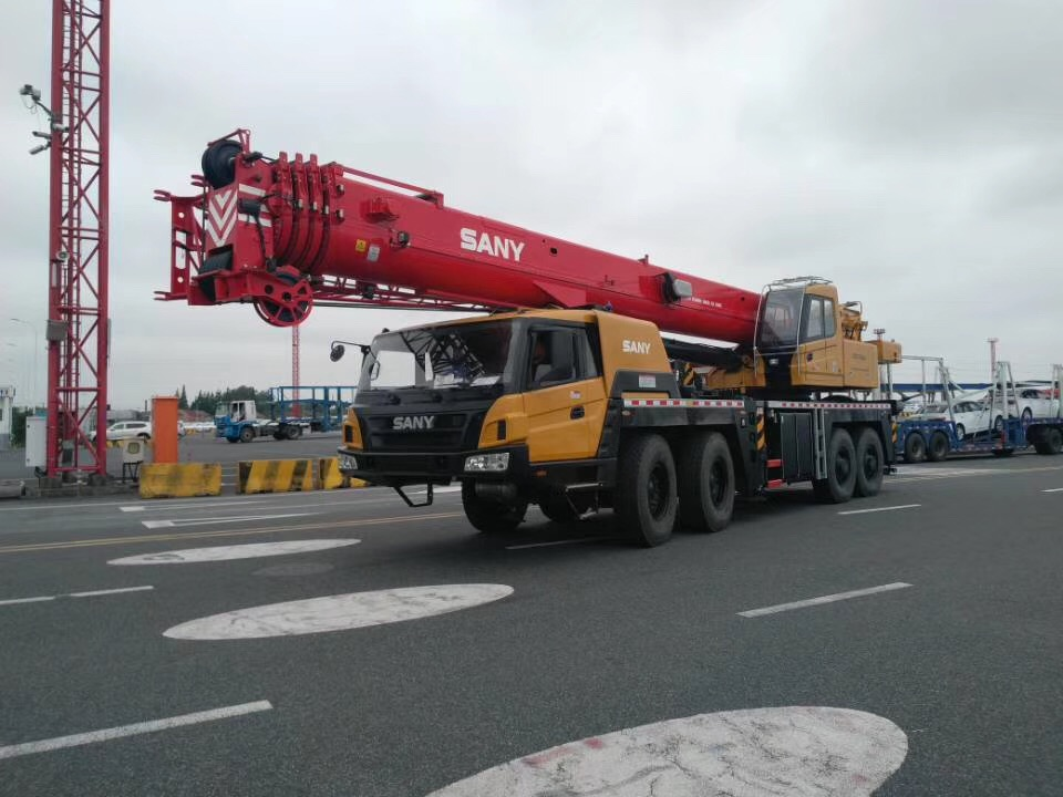 New 100 ton Construction Equipments Mobile Truck Crane Price STC1000A for sale crane truck
