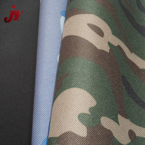 China product 900D polyester waterproof pvc coated flat camouflage oxford tent fabric