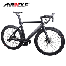 2019 Disc Carbon racefiets Compleet Fiets Carbon met SH1MANO <span class=keywords><strong>groepset</strong></span>, 22 speed carbon fiets