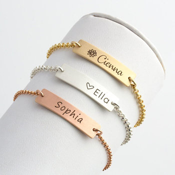 Jewelry Personalized Baby Bracelet