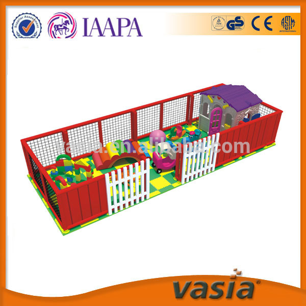 Updated newest and high quality play house and rocking chair in children soft Indoor Playground