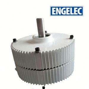 Low RPM Axial flux coreless 10kw permanent magnet generator motor