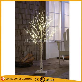 6ft 72led 180cm White Birch Pre Lit Artificial Christmas Trees ...