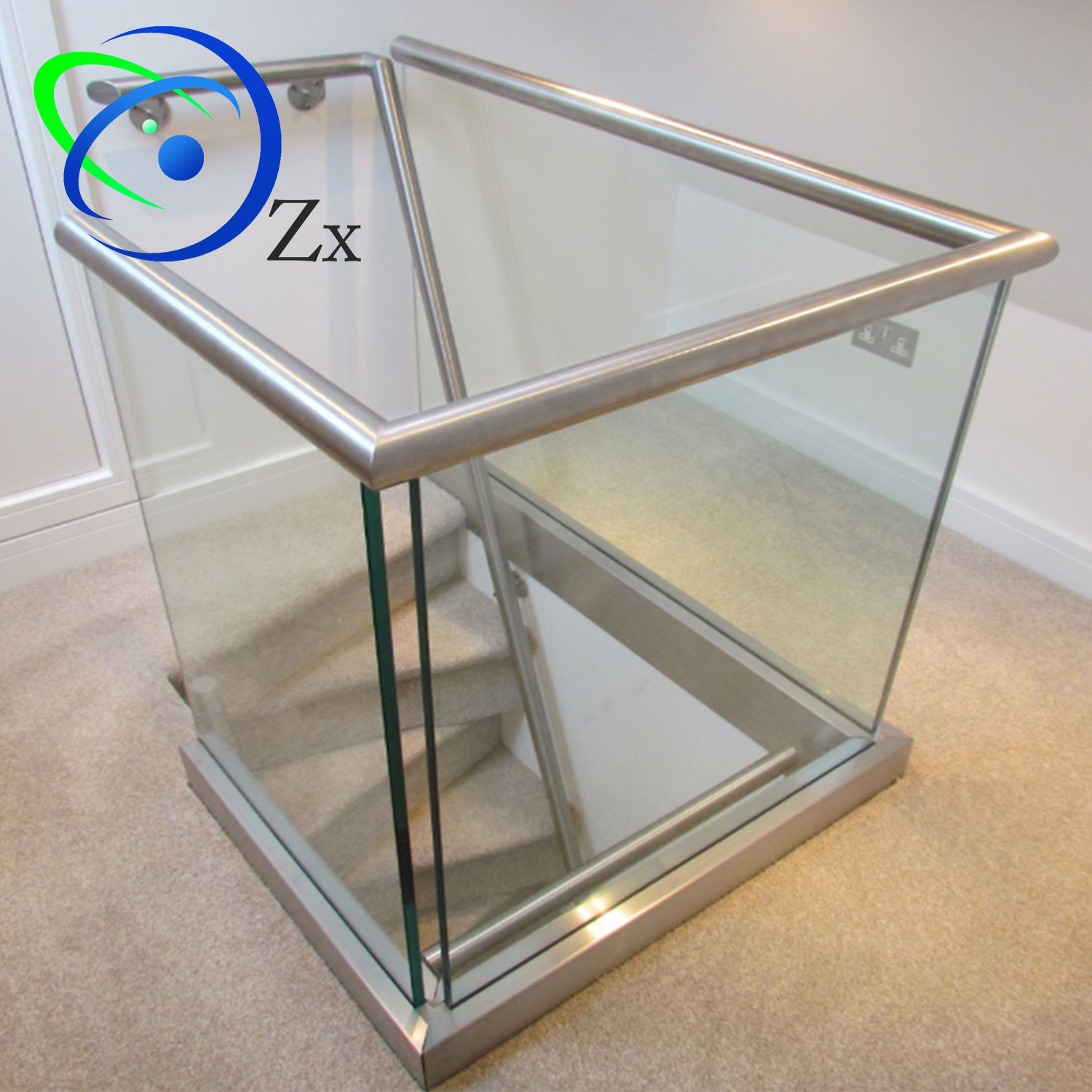 U Shape Aluminium Channel For Frameless10/12mm/15mm Glass