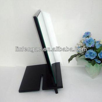 Black ornate dressing table mirror