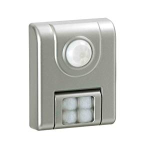Light It! By Fulcrum, 4-LED Wireless Motion Sensor Light, Battery Operate, Silver