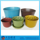 various sizes of plastic flower pot mould for injection