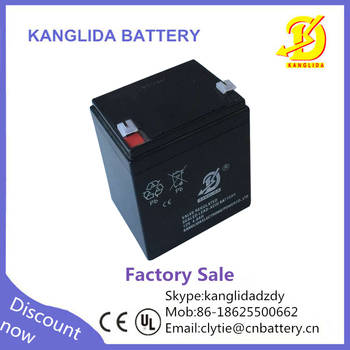 Kanglida 12v 4ah rechargeable lead acid toy car battery