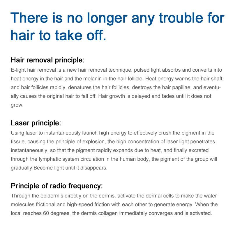 SIVIR opt shr / laser hair removal machine price /Hair remover