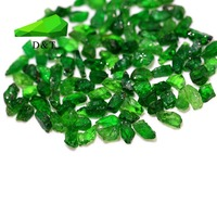 small size green garnet rough jewelry stone natural green garnet prices