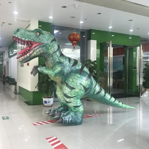 HI PVC 2 meter professional adult dinosaur costume for sale