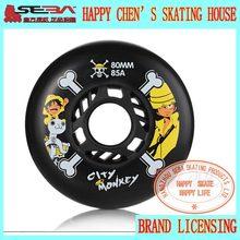 Japy Skate City Monkey Skate колеса 85A слалом/тормозной ролик скейт обувь колеса SEBA коньки колеса высокого качества роликовые колеса(Китай)