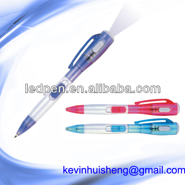 promotional stationery lamp pen