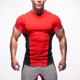 Hot sale gym sports fitness bulk wear yoga wear fashion design men t shirt