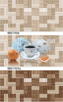 Wooden Pattern Ceramic Wall Tile for Kitchen Design Decoration
