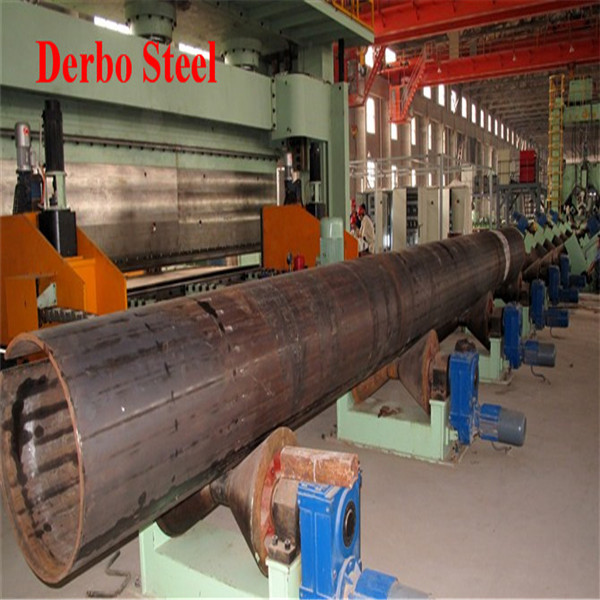 High Quality DB - 3PE Anticorrosion Erw Pipe 2 PE Anticorrosion DSAW Pipes API 5L Grade X65 PSL1/PSL2