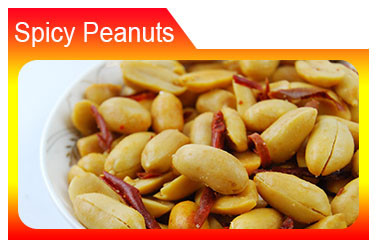 ISO 22000 spicy snack coated peanuts