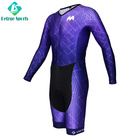 Custom Men Long Sleeve Cycling Skin Suit