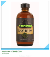 2017 Hot Sell !OEM factory competitive price All natural men Bay Rum Aftershave